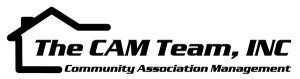 logo for the CAM Team Condo Management Company
